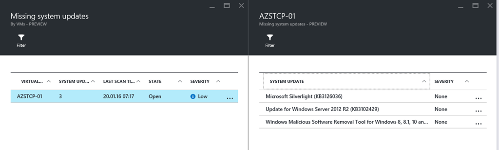 Azure Security Center - keep your Azure VMs up to date - Daniel's