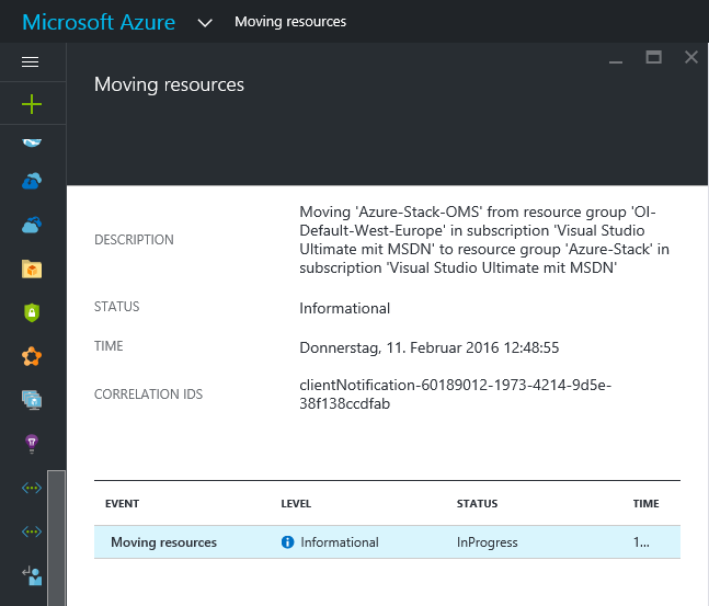 Moving your OMS / Azure Log Analytics workspace to a different