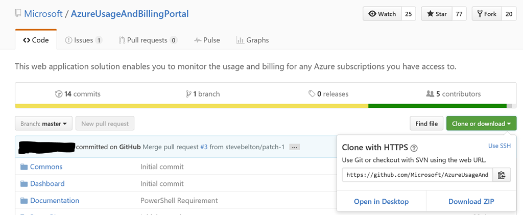 Set up the Azure Usage and Billing Insights Portal for demo