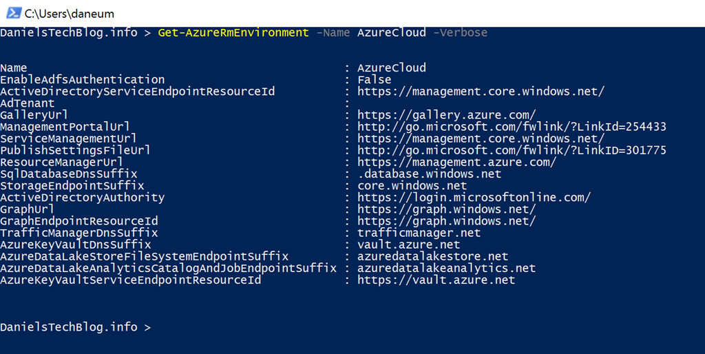 Azure services URLs and IP addresses for firewall or proxy