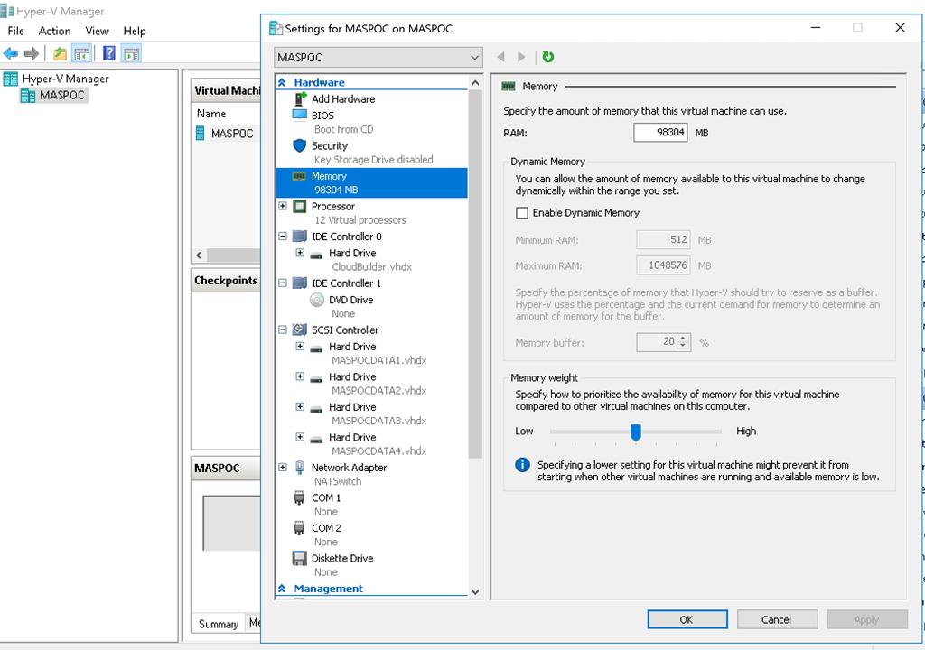Running the Azure Stack Development Kit on Azure - Daniel's Tech Blog