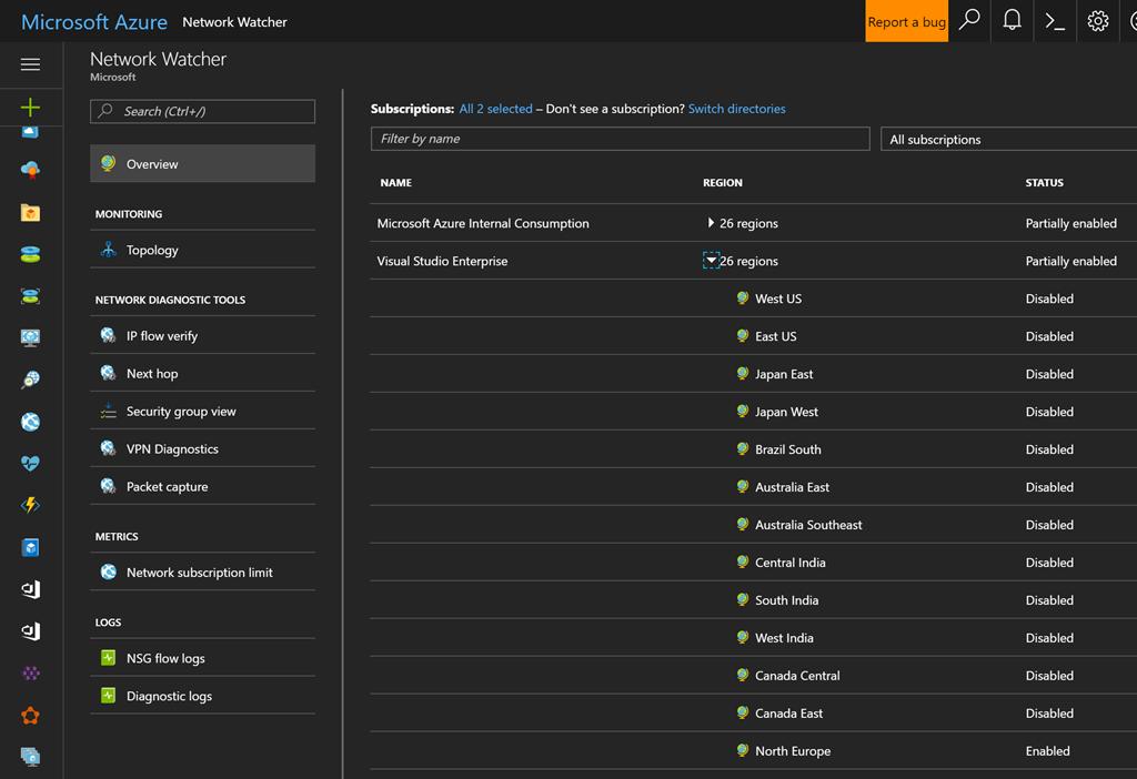 Troubleshoot Azure VPN gateways with the Azure Network Watcher