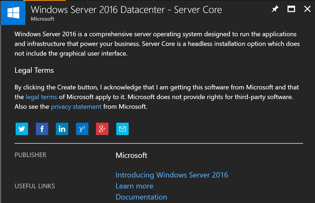 Enabling Azure Disk Encryption on Windows Server 2016 Server