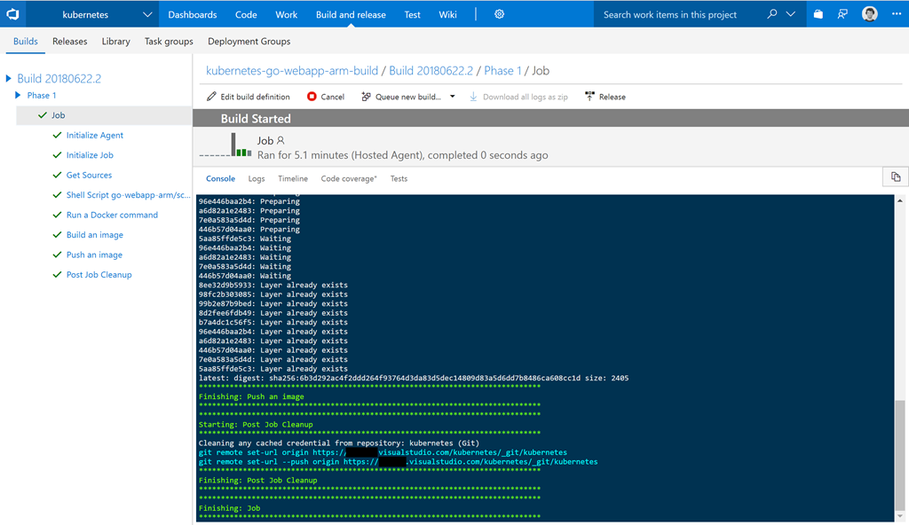 Building ARM-based container images with VSTS for your Azure IoT