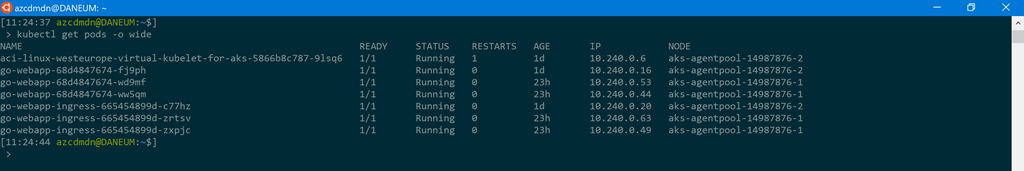 Build Azure Kubernetes Service cluster with bring your own