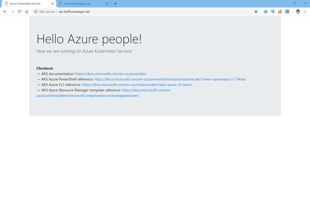 Kubernetes network policies on Azure Kubernetes Service with