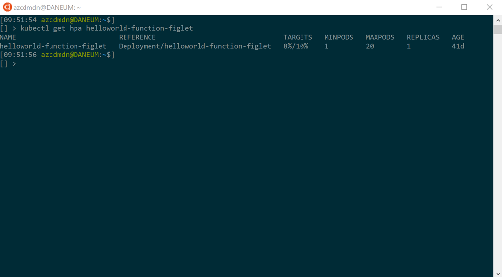 Running Azure Functions on Kubernetes like on Azure in the