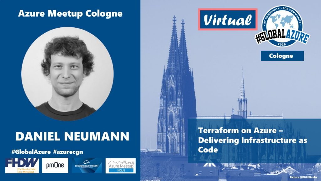 Speaking at Global Azure Bootcamp 2020 Virtual – Cologne