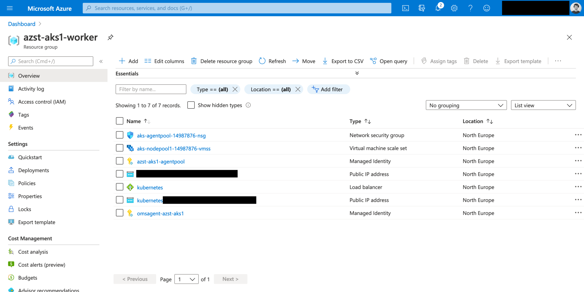 ARM Template – Deploy an AKS cluster using managed identity and managed Azure AD integration