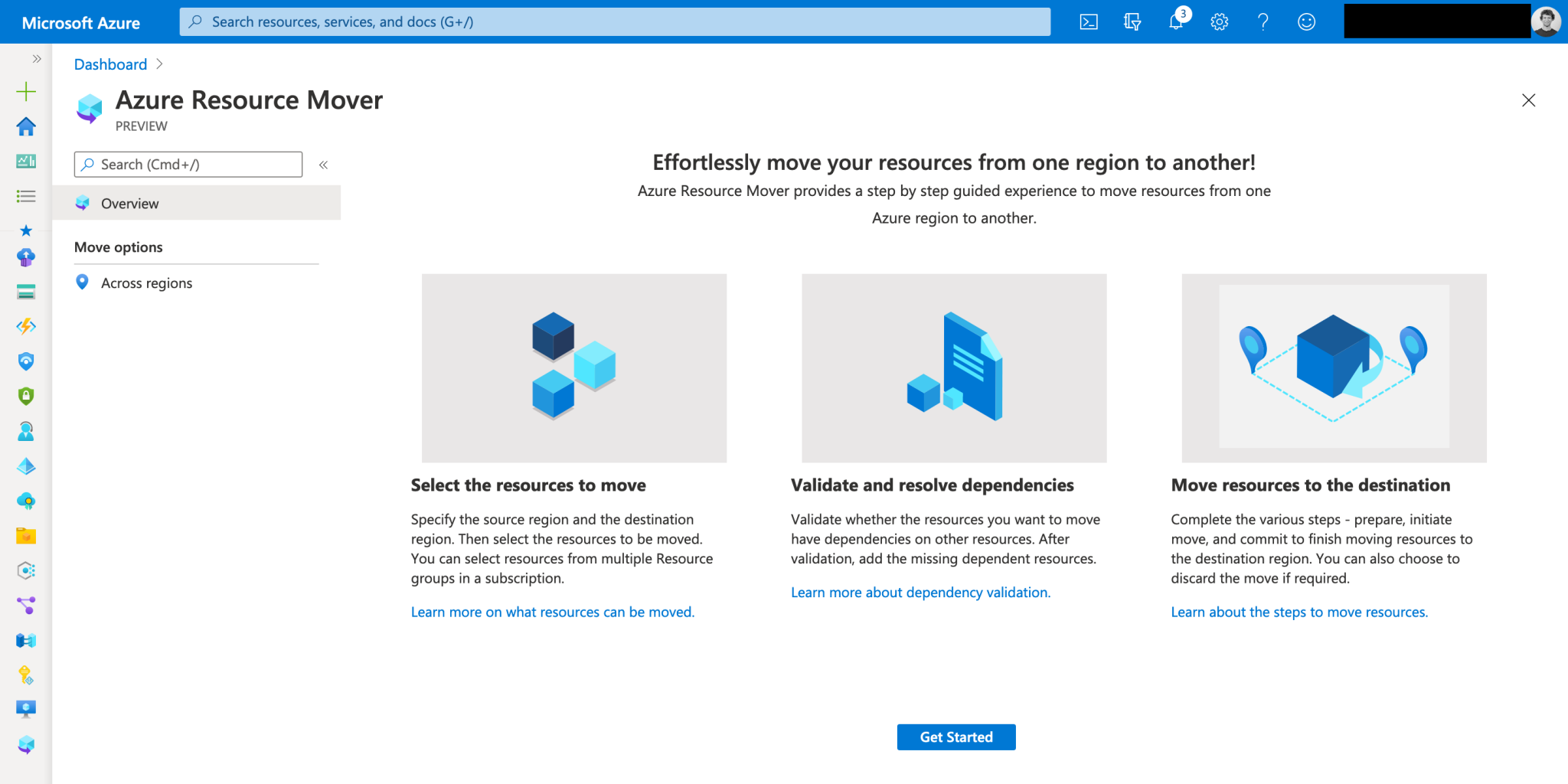 Introduction to Azure Resource Mover