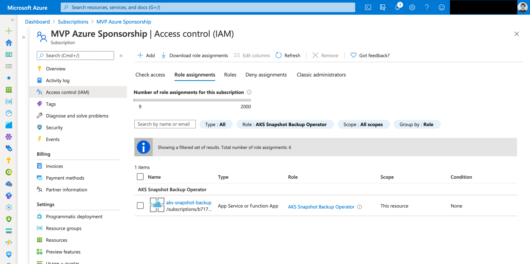 Automate taking backups from Azure disks attached to Azure Kubernetes Service