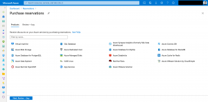 Overview Azure Reservations